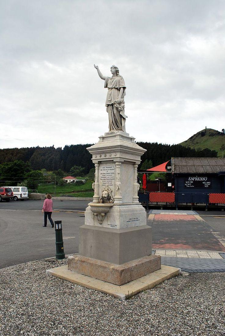 Palmerston NZ Boer War Memorial - New Zealanders - Wikipedia, the free encyclopedia