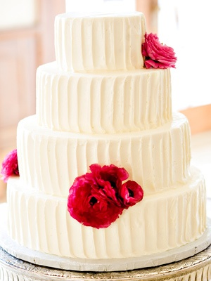Elegant #wedding cake