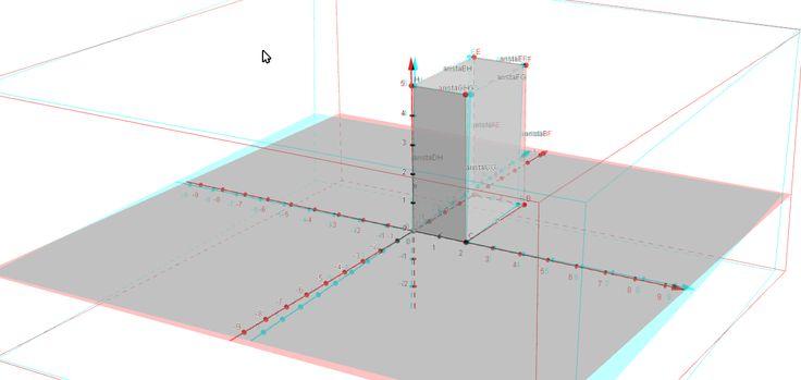 Prisma de base rectangular realizado por Víctor-2º de ESO con geogebra