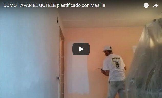Eliminar O Tapar Gotele Plastificado Gotele Fotos Pintura Paredes Pintadas
