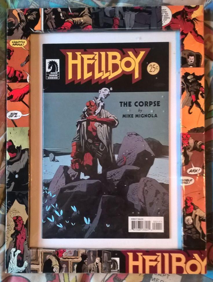 HellBoy : A custom frame done for Rusty @ Rebellion Tattoo, Widnes