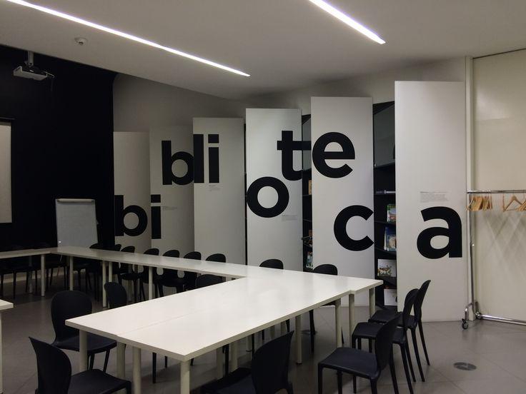 #signage at Pavilhao do Conhecimento, Lisbon's Pavilion of Knowledge
