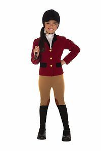 Equestrian Rider Horse Jockey Child Girls Costume Size s Small 4 6 New | eBay
