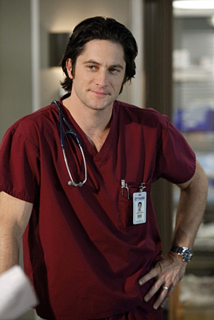 "David Conrad - (aka Jim Clancy, ""Ghost Whisperer""). I'd like a list of all these hospitals that employ these hot doctors, STAT."