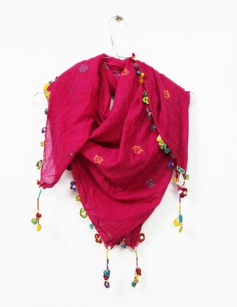 beautiful scarf from Pero Scarves