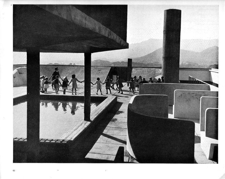 Le Corbusier, Unite d'habitation, 1945, Marseilles