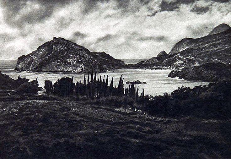 Κέρκυρα, Παλαιοκαστρίτσα, 1920 / Corfu: Palæokastrizza