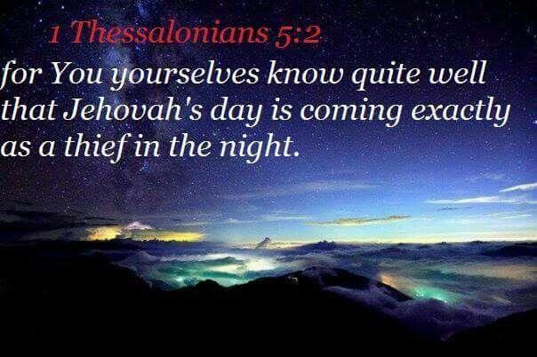 1 Thessalonians 5:2