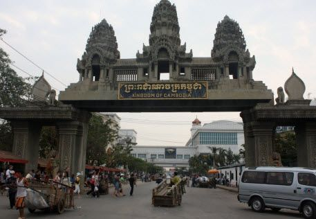 Poipet Border Crossing, Cambodia