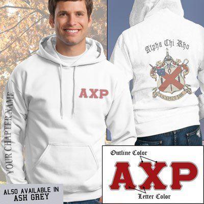 Alpha Chi Rho Crest Sweatshirt - Gildan 18500 - SUB