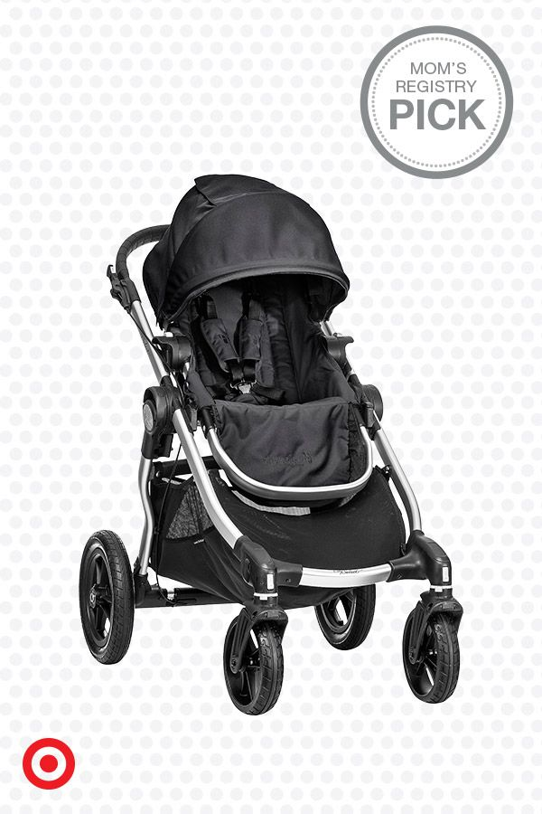 Plan for a growing family with the City Select stroller by Baby Jogger. This four-wheel stroller offers 16 configurations for ultimate versatility, plus it has a multiposition reclining seat, sun canopy, swiveling front wheels and telescoping handlebars. Add a car seat adapter to make it a travel system, or another seat for a second child.