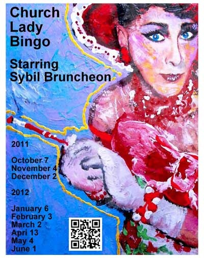 I can't wait til I get to play at Church Lady Bingo!
