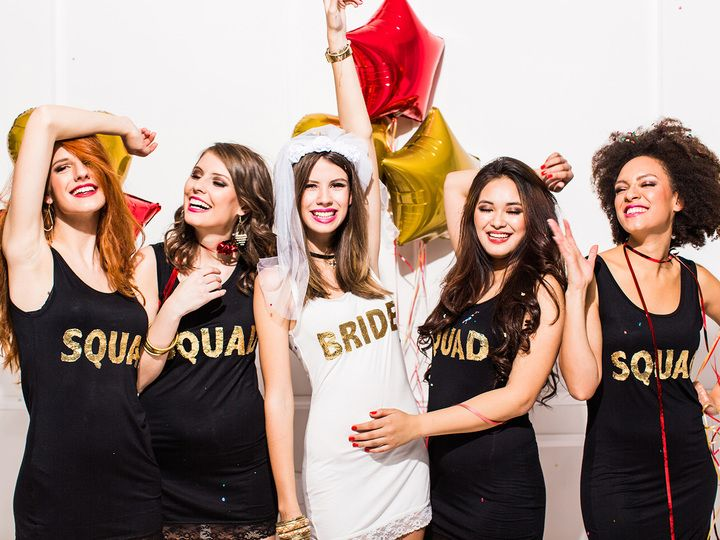 58 Funny Phrases to Put on Your Bachelorette Party Shirts | Photo by: iStock  | TheKnot.com