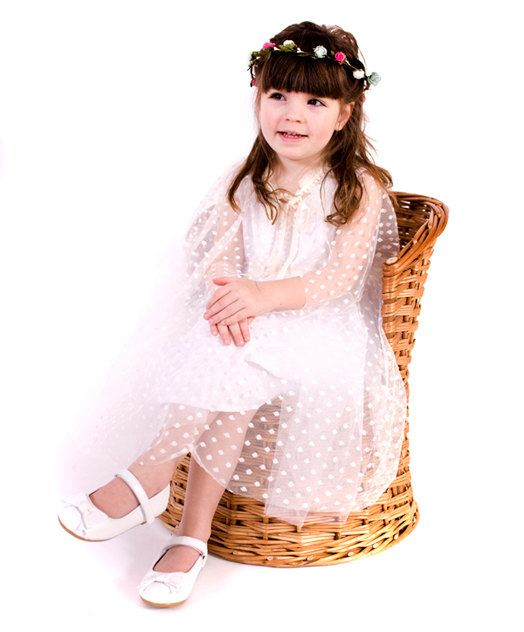 Girls Dotty Tulle Cape  One Size Age 2  6 by AnnaandAlex on Etsy, £30.00