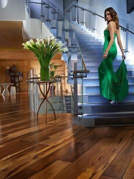 Macchiato Pecan Hardwood Flooring
