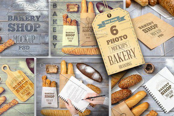 Bakery Mockup by elfivetrov on @creativemarket