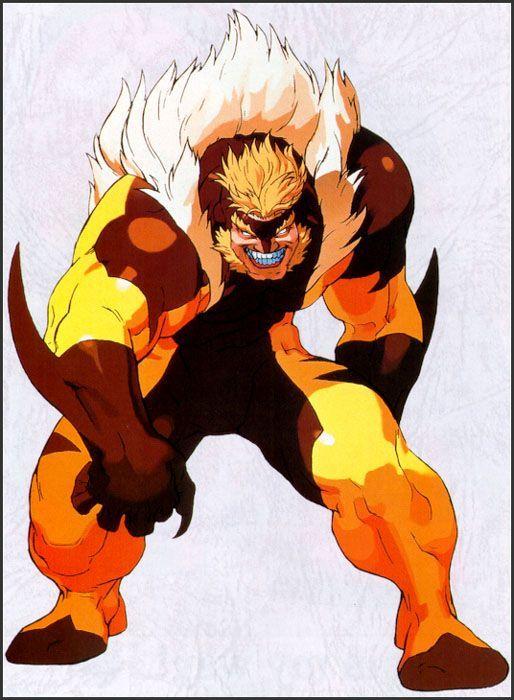Vic's character design from Marvel vs  Capcom   Comic