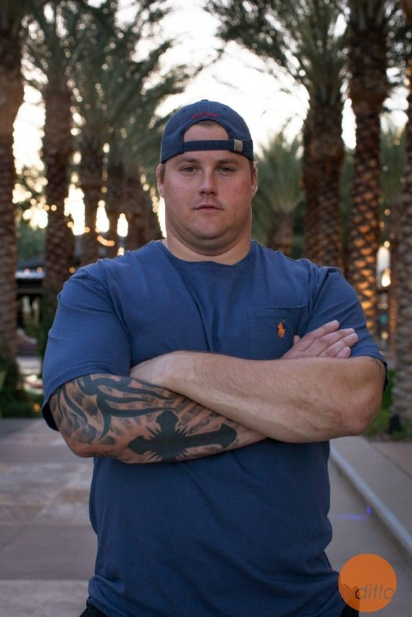 #MiamiDolphins guard Richie Incognito #ditlo photography by Chris Hinkle #NFL #fins #offense #lineman #probowl #tattoos