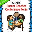 Every teacher needs a good Parent Teacher Conference Form in hand when they gather together with a parent to discuss their child's needs. Not only ...