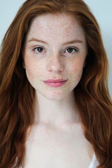 Luca Hollestelle: how I imagined Ginny Weasley to look like when I read the Harry Potter books.