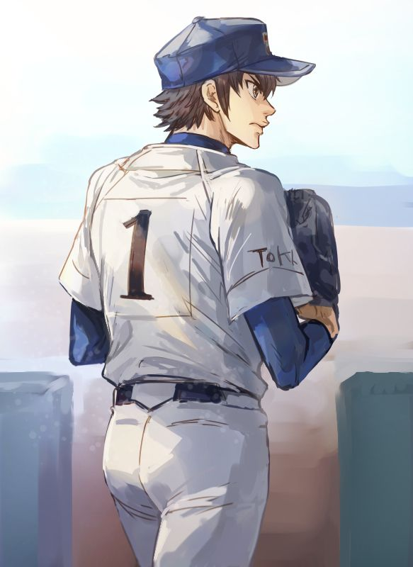Sawamura Eijun Daiya No Ace Ace Of Diamond Ace Of Diamonds Ace Sports Anime