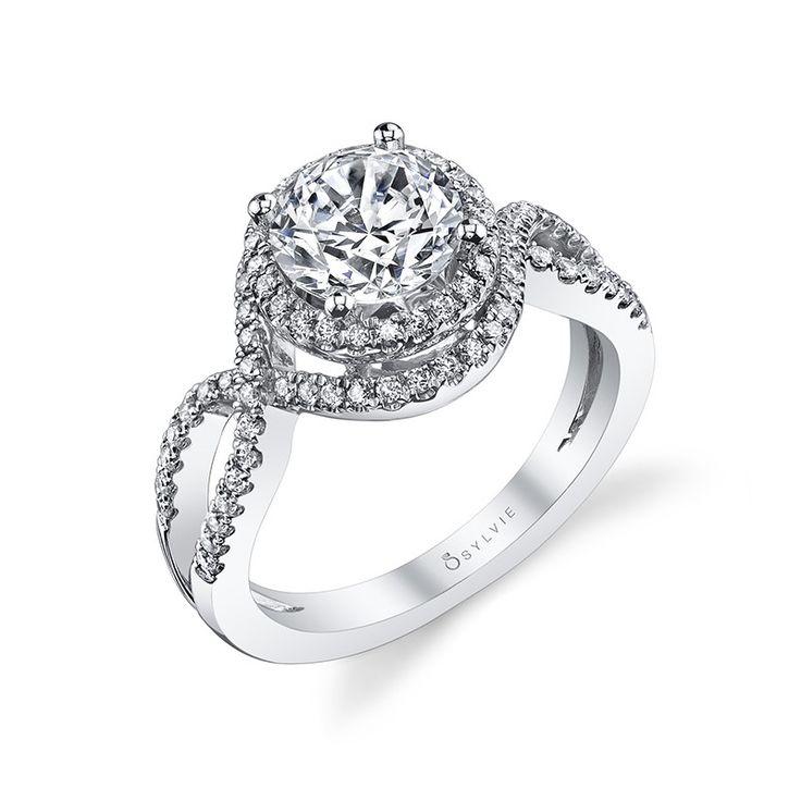 22 Best Spiral Engagement Rings Images On Pinterest Round
