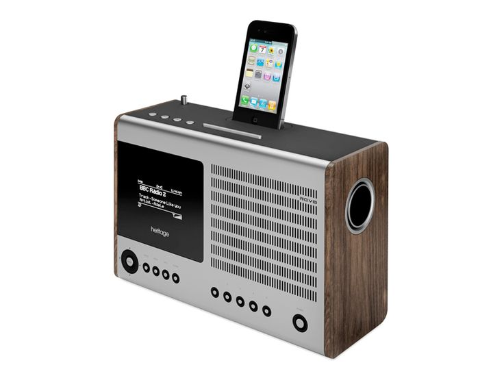 Made of sleek aluminum and walnut veneer, the Heritage Internet radio is hardly a blast from the past. Tune in like never before with the multitalented wonder that works with Wi-Fi, DAB (digital audio broadcasting), and DAB  FM — and lets you stream audio from your iOS devices. Available at momastore.org, $400.