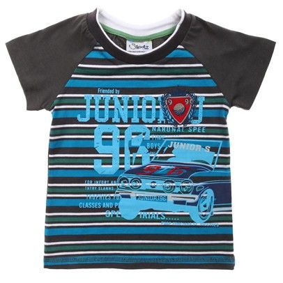 z.Light Blue/Grey/White Stripe Junior J Print-AJ65016-Light-Blue-Grey-White $12.00 on Ozsale.com.au