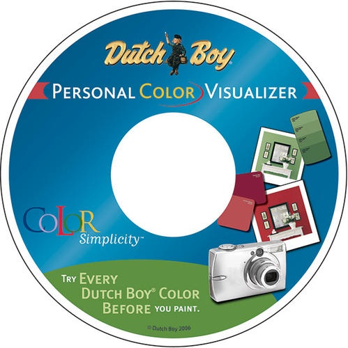 Dutch boy color visualizer cd at menards painting around the house colors and tips - Dutch boy exterior paint colors property ...