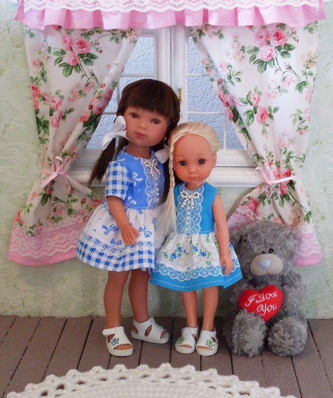 У меня есть кукла в платье голубом / Другие испанские куклы / Бэйбики. Куклы фото. Одежда для кукол
