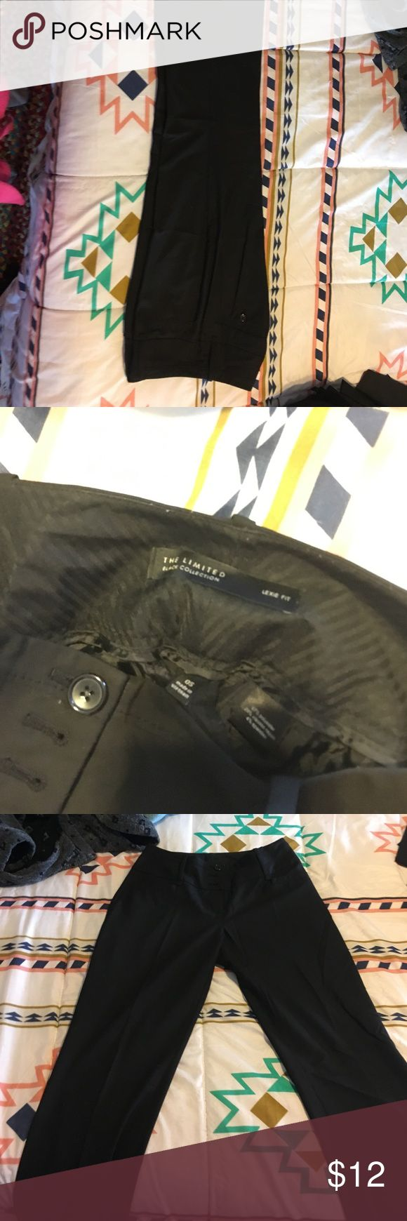 The limited work trousers - Lexi cut Great condition. Size 0P. Lexie fit. The Limited Pants Trousers