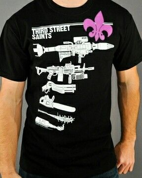 Saints row 3 shirt