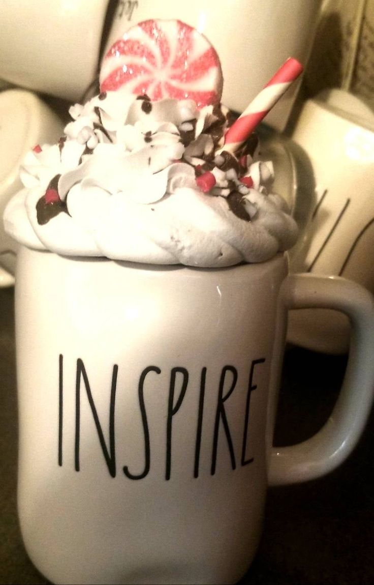 Faux Whip Cream Mug Topper Rae Dunn Mug Topper | One Large Rae Dunn Mug Whip Topper Included
