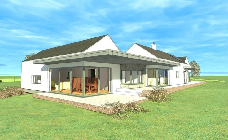 Passive house carlow country house ideas pinterest for Modern house design northern ireland