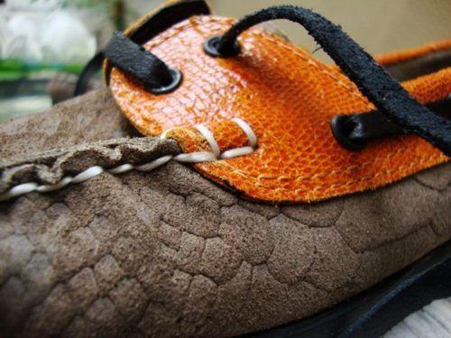 Teodelina Orange  Nauticos / Loafers  A/W2012 close up