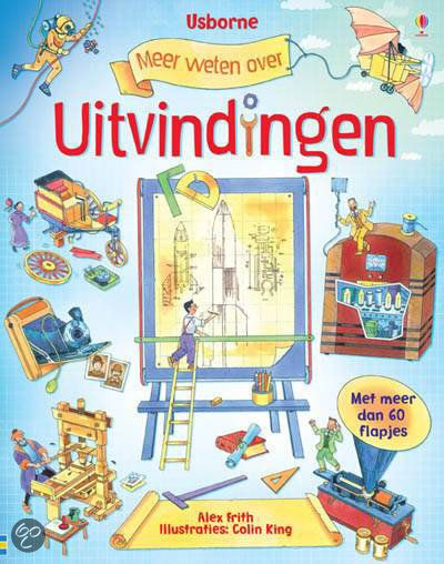 Meer weten over uitvindingen flap-uitboek