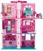 Barbie Dream House  Invite your friends (and their dolls) over to the Barbie Dream Dollhouse. This three-story retreat includes double doors, appliances, furniture pieces, two elevators, and a working doorbell. The oven ...