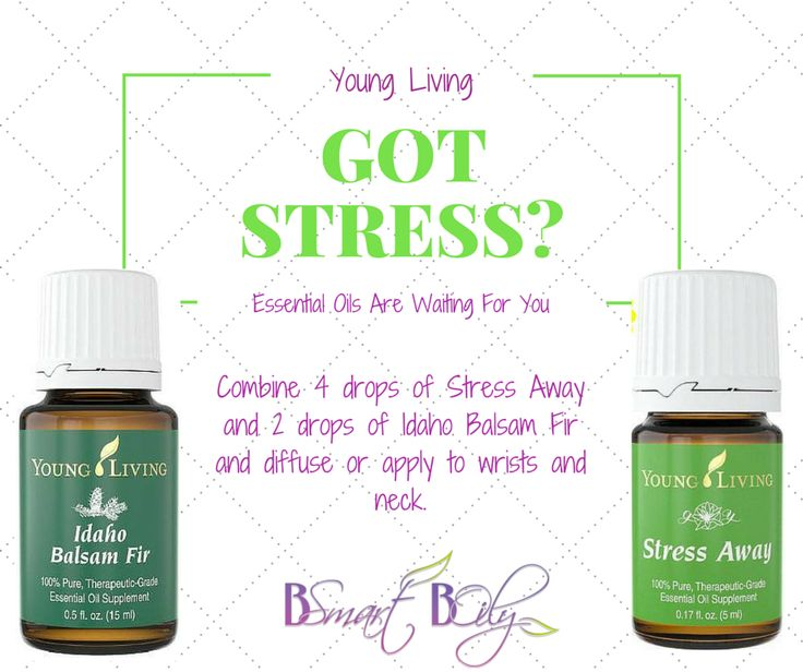 Got stress?  Young Living essential oils will help! Idaho Balsam Fir and Stress Away are amazing!  I've improved my sleeping, my stressful mind, and my crazy anxious feelings when life gets tough!  Go here to become a member and purchase the premium starter kit (the best deal), which includes stress away!