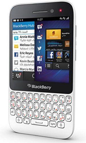 Buy Blackberry Q5 SQR100-2 8GB 4G LTE, GSM Unlocked, English/Arabic Keypad - White NEW for 243 USD | Reusell