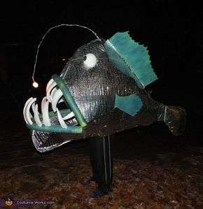17 best ideas about angler fish on pinterest deep sea for Angler fish costume