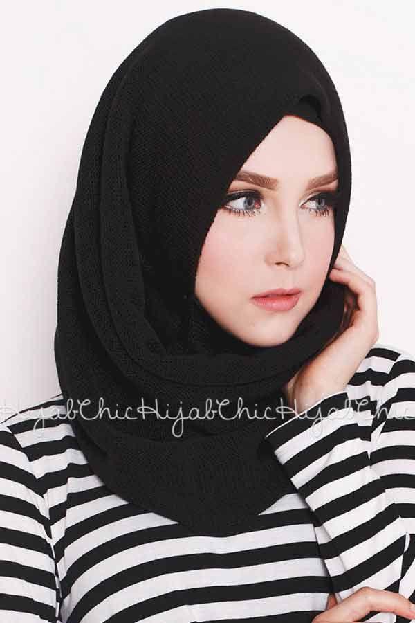 new black arabian and pakistani hijab styles trend 2017 2018