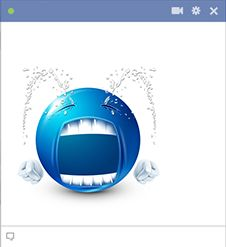 Fountains of Tears Emoticon for Facebook