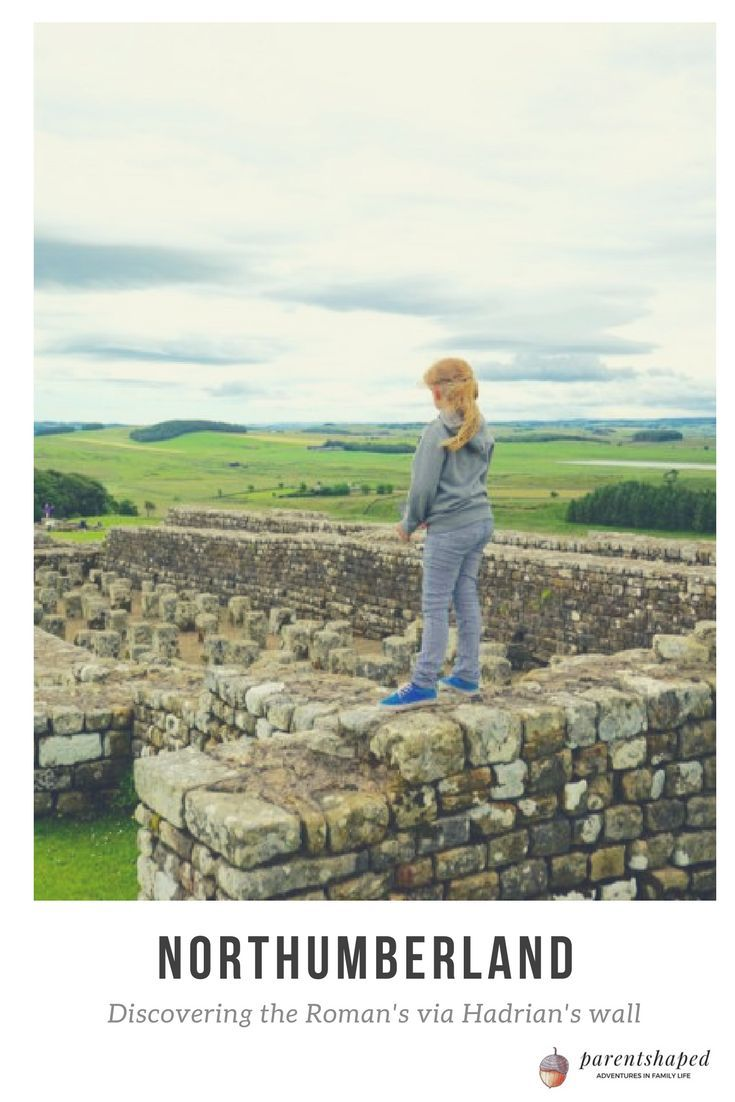 Northumberland, a place to really remind you of your place in the world. Perfect to instill a love of history.