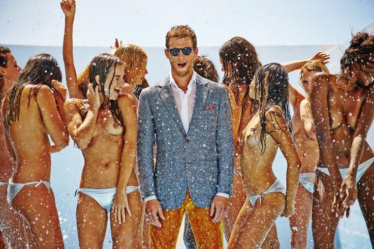 Carli Hermès   Unit c.m.a.   Suitsupply Summer 2014