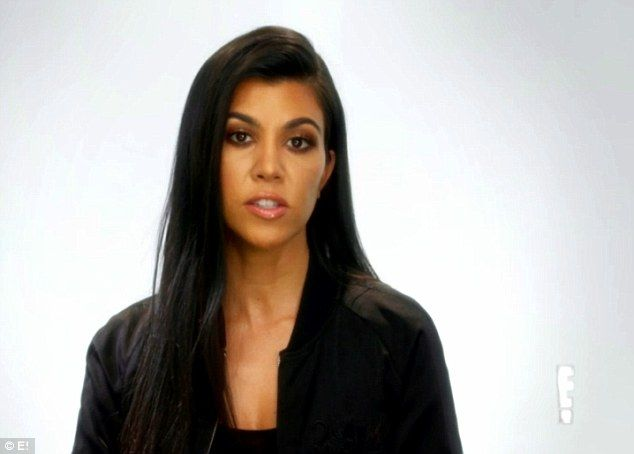Oh well: Kourtney is seen saying to camera that Scott always has 'a million excuses' and that his no-show at Kanye's big event would likely be a 'disappointment' to her sister Kim, who's married to the rapper