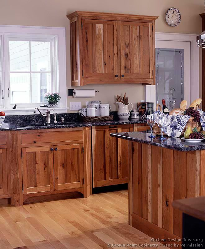 kitchen idea of the day arts crafts kitchens by crown point - Rustic Style Kitchen Designs