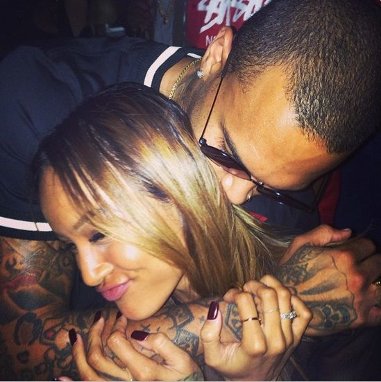 Friend congratulates Chris Brown and Karrueche Tran on pregnancy
