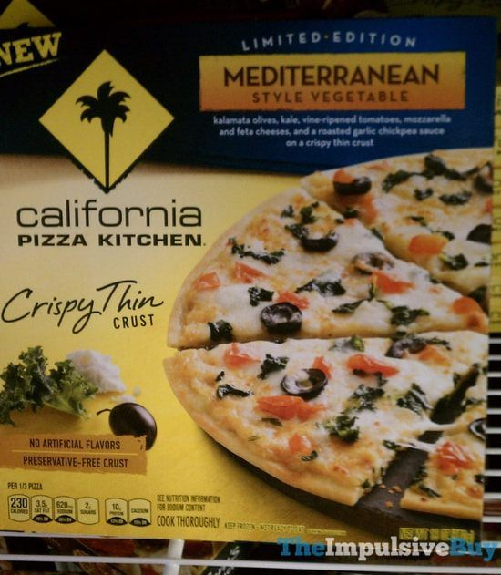 California Pizza Kitchen Hand Tossed Walmart