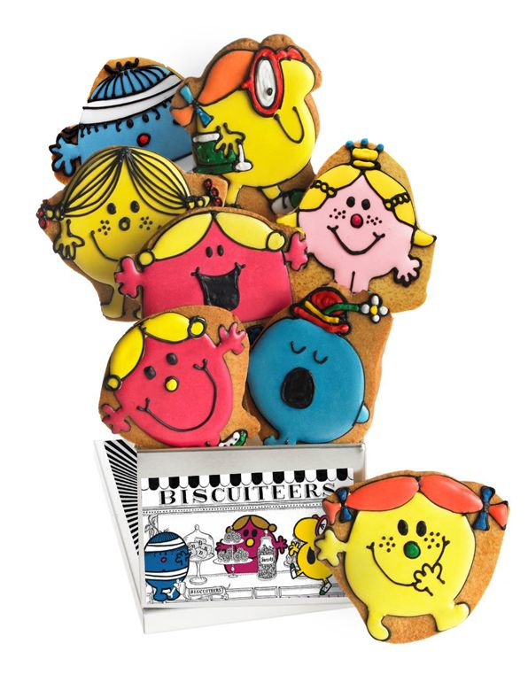 Little Miss biscuits by Biscuiteers...which one us your mum? | From the Biscuiteers | Worldwide delivery