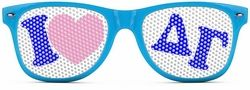Delta Gamma Wayfarer Style Lens Sunglasses SALE $12.95. - Greek Clothing and Merchandise - Greek Gear®